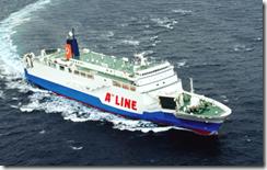 A LINE船